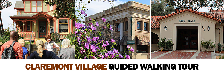 Claremont Village Guided Walking Tour