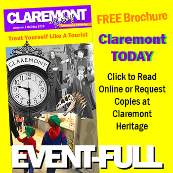 Claremont Today brochure