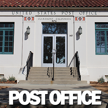 US Post Office Claremont CA